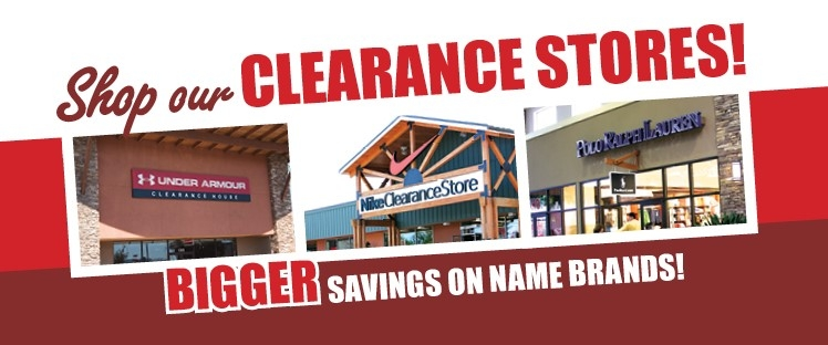 Clearance Stores Slider